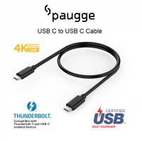 Paugge USB 3.2 Gen 2 / 10Gbps / 100W PD / 4K 60Hz USB C Kablo - 1 Metre
