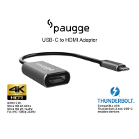Paugge 4K 60Hz HDR USB C to HDMI Adaptör