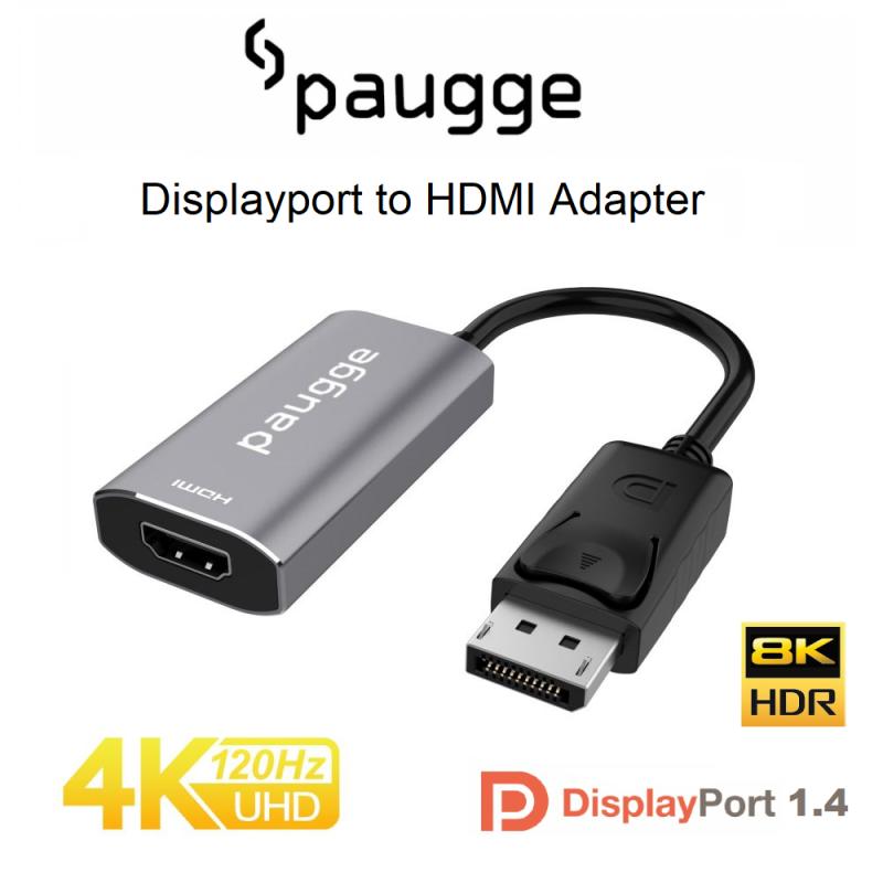 Paugge 4K 120Hz HDR Displayport to HDMI Aktif Adaptör