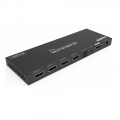 Paugge 4 Port HDMI Splitter - (Hdmi 2.0b 4K60Hz HDR, Optic Ses Çıkış)