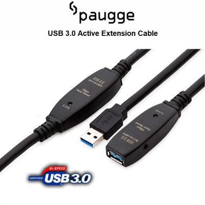 Paugge USB 3.0 Active Extension Uzatma Kablosu - 5m