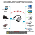 Paugge 4K 60Hz HDR Mini Displayport to HDMI Aktif Adaptör